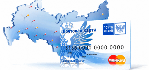 Банковская карта Почта банка